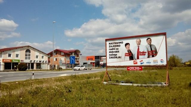Zabok drugi pano - Željko Kolar - Naš župan!