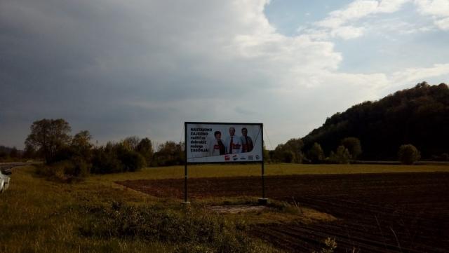 Pano Zagorska magistrala (nivo Jakovlje) - Željko Kolar -Naš župan!