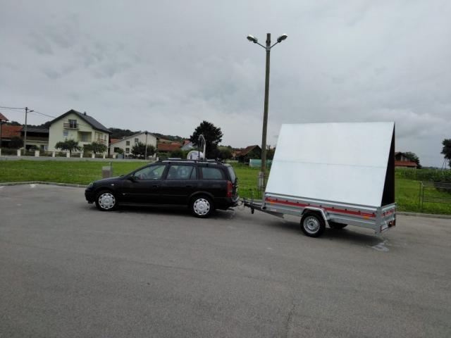 Mobilni billboard/jumbo pano Zagorje