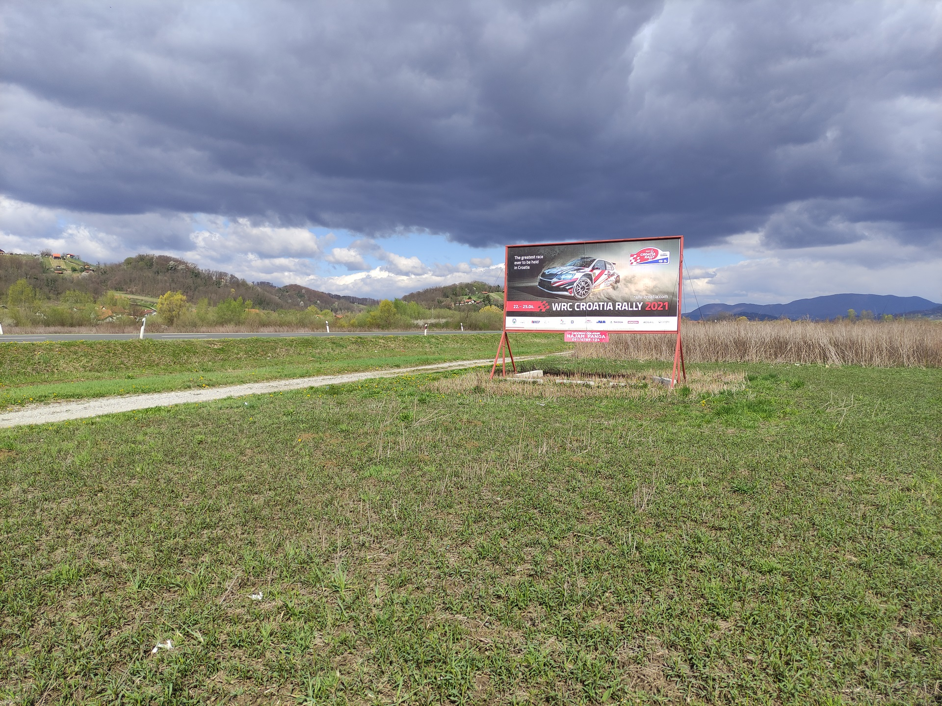Pano brza cesta Zabok-Začretje-Krapina - WRC Croatia Rally 2021