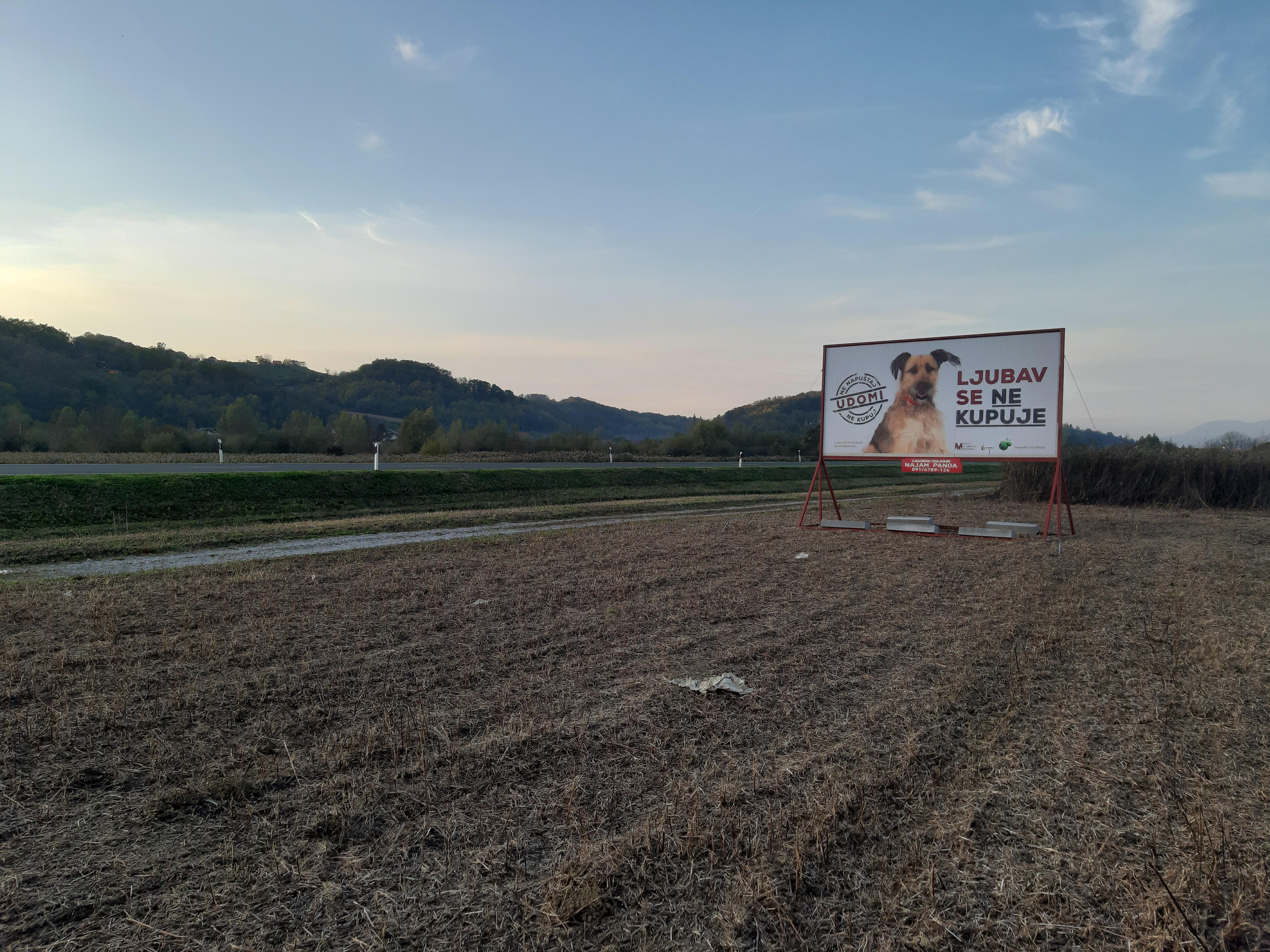 Pano brza cesta Zabok-Začretje-Krapina - Udomi, ne kupuj