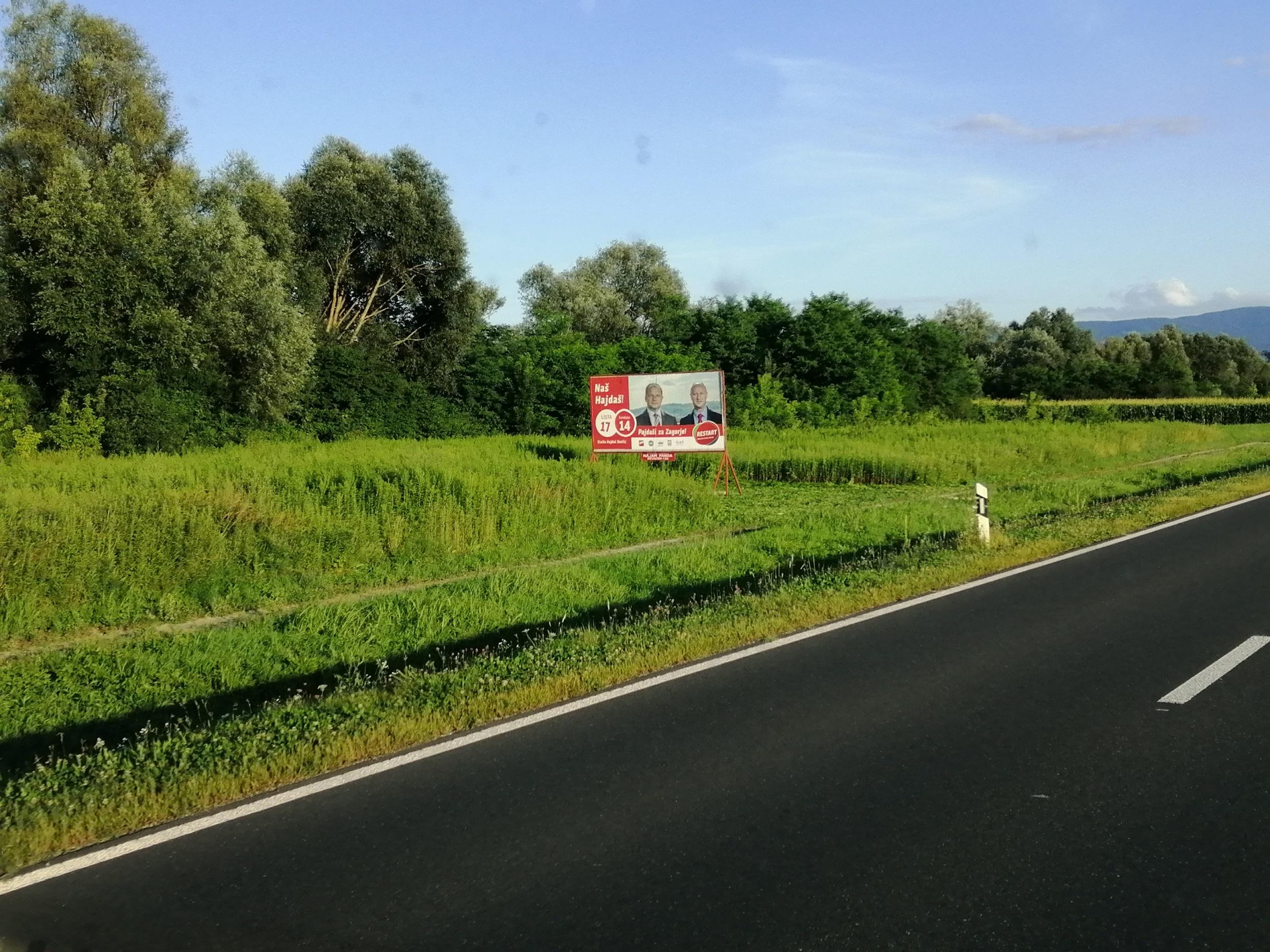 Pano brza cesta Zabok-Začretje-Krapina - Restart